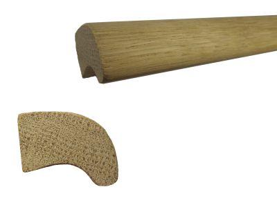 50-luvun lippavedin tammi puuvalmis, kanki 1200mm