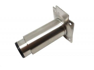 Säädettävä putkijalka 80-130mm, rosteria